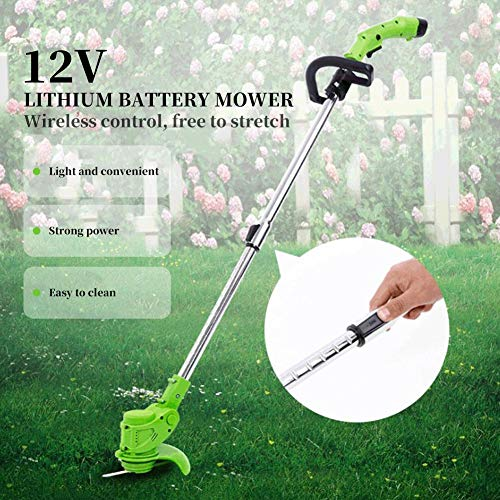 Precauti Cortacésped eléctrico inalámbrico Multifuncional pequeño ...