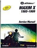 LIT-11616-XJ-00 1985-1986 Yamaha XJ700X Maxim X Motorcycle Service Manual