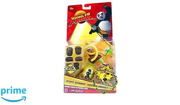 Kung Fu Panda Staff Spinnin Master Monkey Action Figure M2703