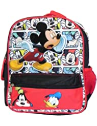 Small Backpack - Disney - Mickey Mouse w/ Friends 12