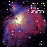 Robert Simpson: Symphonies Nos 1 & 8