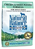 Natural Balance L.I.D. Limited Ingredient Diets Dry Dog Food - Grain Free - Chicken & Sweet Potato Formula - 26-Pound