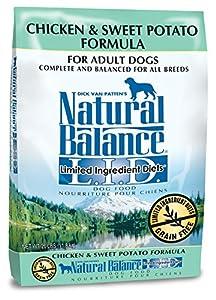 Natural Balance L.I.D. Limited Ingredient Diets Chicken & Sweet Potato Formula Dry Dog Food, 26 lb