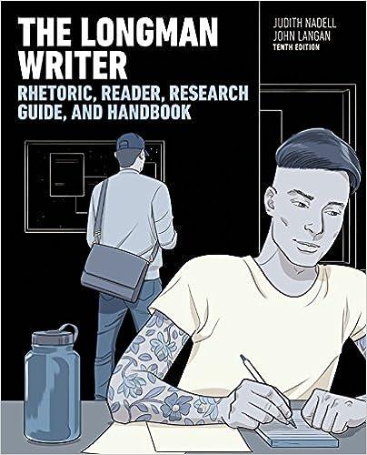 Longman Writer The Kindle Edition By Judith Nadell John Langan