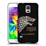 Official HBO Game Of Thrones Stark House Mottos Hard Back Case for Samsung Galaxy S5 / S5 Neo