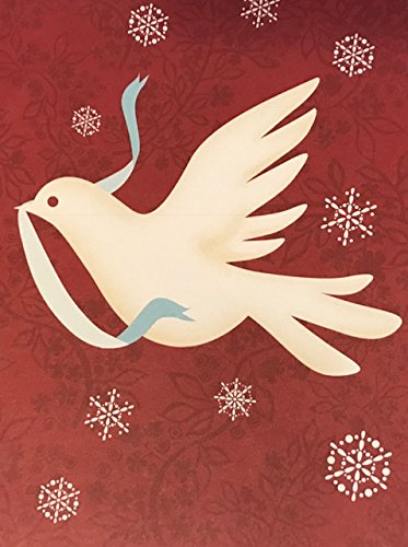 (4) Starbucks Blank White Dove Holiday Cards and White Decorated Envelopes