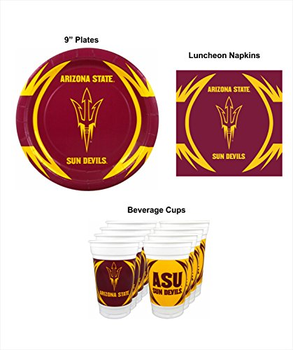 Arizona State Sun Devils Party Pack - 48 pieces -