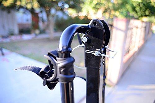 Allen Sports Deluxe 2-Bike Hitch Mount Rack , Silver/Black (522RR)