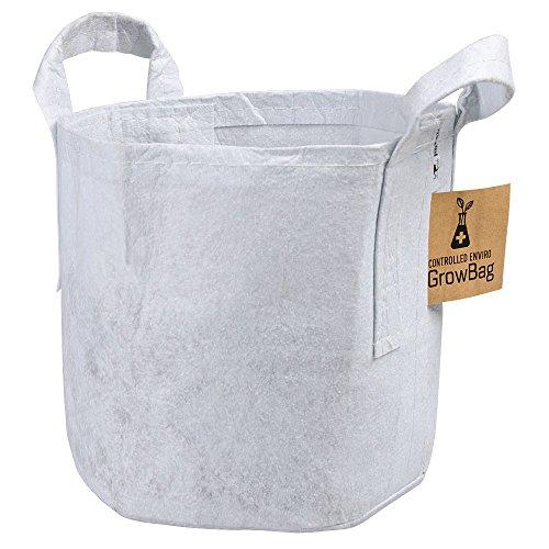 Enviro Controlled Indoor Grow Bag, White, 10 per Bundle (5 Gallon)