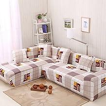 CXYY Padded printed tight towel full sofa sofa set non-slip elastic fabric sofa set , loveseat