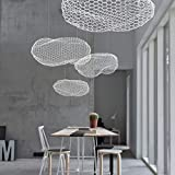 LED Children's Room Cloud Chandelier Designer's lamp Nordic Creativity Hotel Lobby/Restaurant/ Bar Counter, Warm Light, L