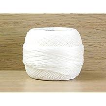 DMC Cordonnet Cotton Crochet Thread Size 50 Blanc - per 20 gram ball