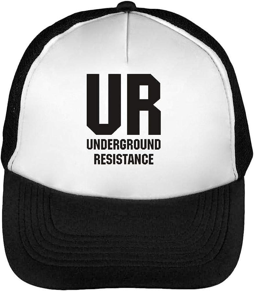 UR Underground Resistance Gorras Hombre Snapback Beisbol Negro ...