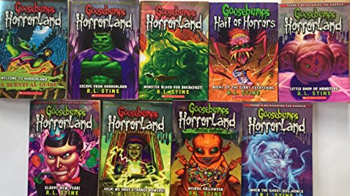 Goosebumps Horror Land Series Set 9 Books by R.L. Stine]()