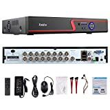 16 ch dvr system - Faittoo H.264 16CH 1080N AHD DVR Hybrid AHD+HVR+TVI+CVI+NVR 5-in-1 Security System Realtime Standalone CCTV Surveillance Onvif P2P Quick QR Code Scan w/ Easy Remote View HDMI/VGA Output (NO HDD)