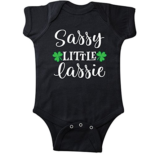 inktastic - St Patricks Irish Lassie Infant Creeper 6 Months Black 2ed94