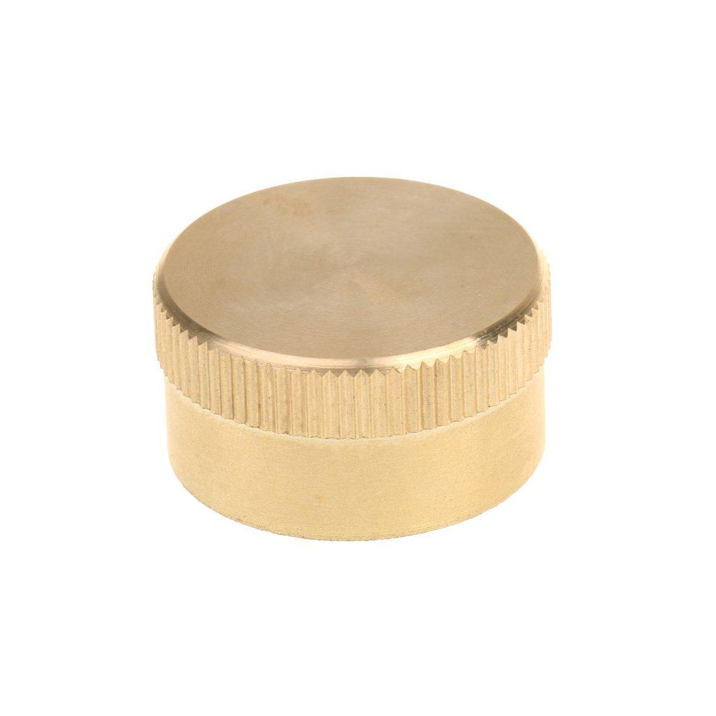 一番の baoblaze 1 in 1 x in 0.6 inソリッド真鍮キャップfor 1ポンドプロパンガスタンク/ボトル/円柱 x B078JX5FMG, HARU online store:f24eb23c --- movellplanejado.com.br