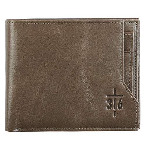 John 16 Cross Leather Wallet product image