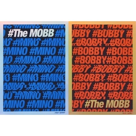 MOBB-[The MOBB] Debut 1st Mini Album CD+PhotoCard+56p Photo Book K-POP Sealed
