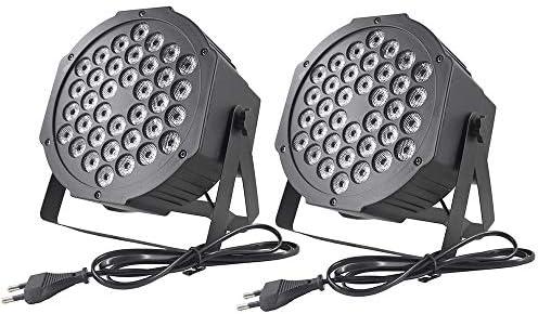 El proyector RVB de lámpara de iluminación LED enciende 36 ledes ...