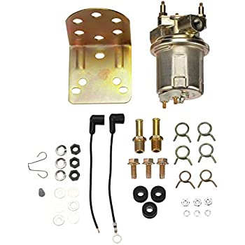 """New Electric Fuel Pump Pump with 1//4/"""" NPT Inlet and Outlet  E8470  P4070"""