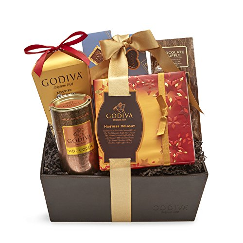 Godiva Chocolatier Hostess Delight Chocolate Gift Basket, 56 Ounce