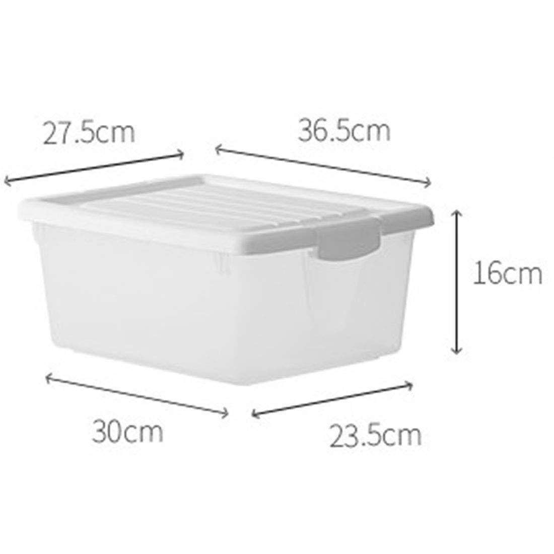 MHKBD-JPプラスチック収納ボックス透明服収納ボックスポータブル雑貨収納ボックス大屋根 収納ケース (色 : Light Small) B07T1WBTZH Light Small