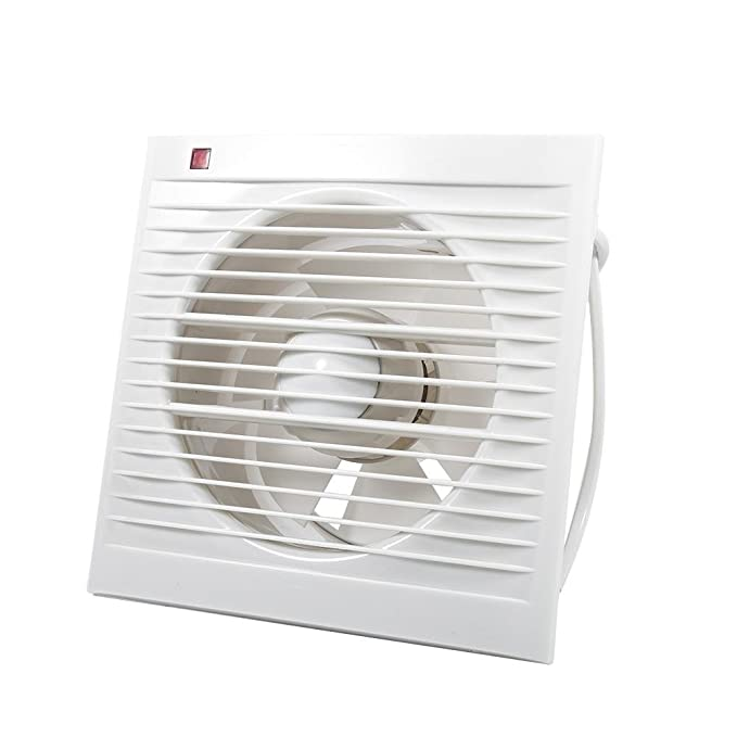 Xpelair 93225AW 4-Inch Bathroom Ventilation Wall//Ceiling Extractor Fan with