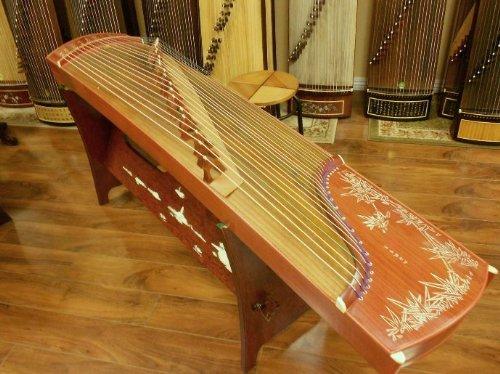 Dunhuang 689E Bamboo Guzheng by Dunhuang