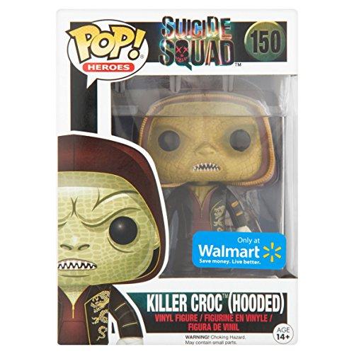 Funko - Figura Pop DC comics Killer Croc con Cap