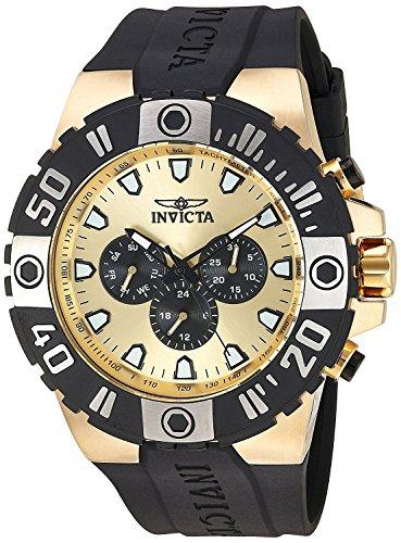 [インビクタ] Invicta Pro Diver Multi-Function Gold Dial Men`s Watch メンズ 23971
