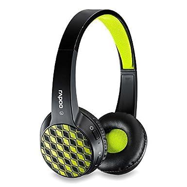 Rapoo Auriculares inalámbricos con cable y Bluetooth 2,4 G negro C-RP-S100-B: Amazon.es: Electrónica