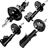 SCITOO NEW Front Rear Full Set Of 4 Absorber Shocks Struts Fit 93-02 Toyota Corolla,93-97 GEO Prizm,98-02 CHEVROLET Prizm