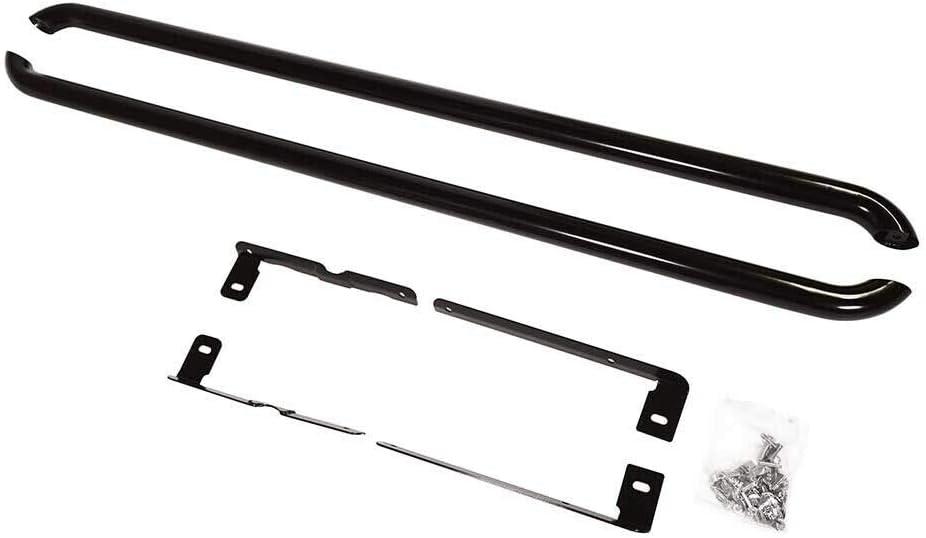 Black Transporter T5 /& T6 Side Bars Guard Style SWB 60m