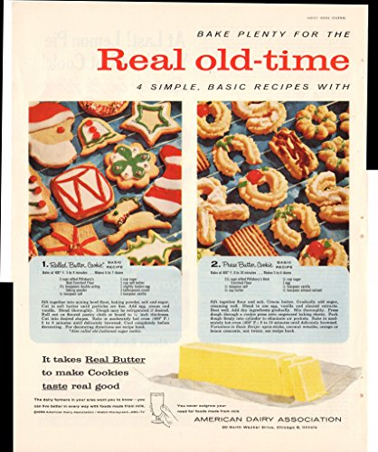american-dairy-association-butter-cookie-recipes-2-pg-1956-antique-advertisement