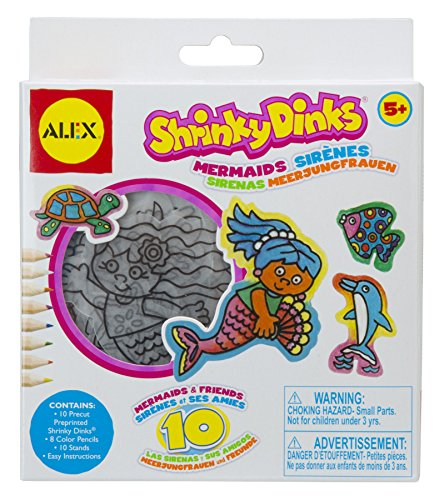 Shrinky Dinks Minis Mermaids -