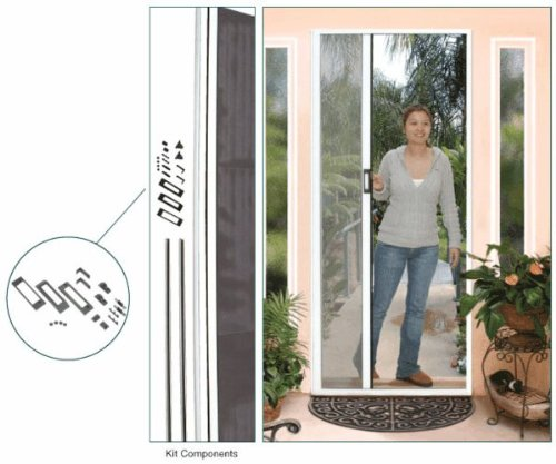 Retractable Screen Euro Style Height White
