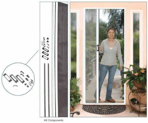 Kit Door Screen Retractable (Retractable Screen Door Kit, Euro-Style, 84