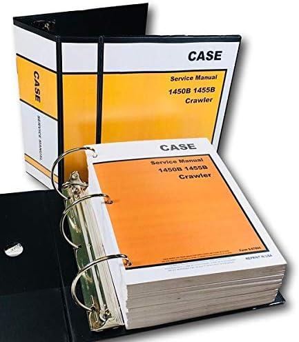 Amazon.com: Case 1450B 1455B - Máquina técnica de reparación ...