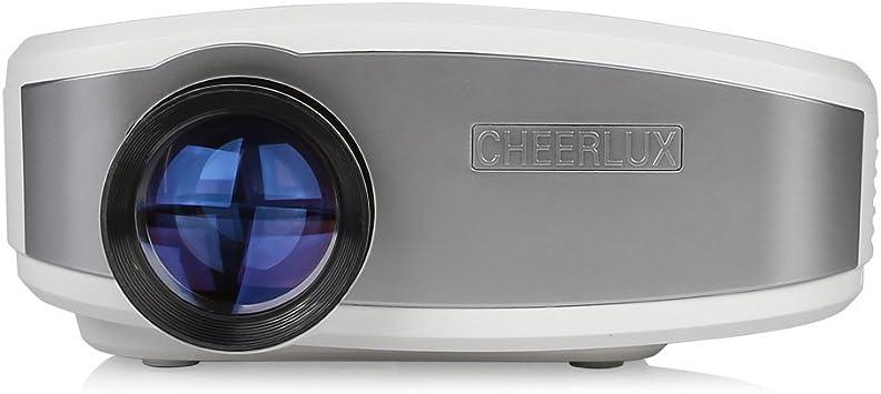 Cheer Lux 1080P HD C6 LED 1200: 1 1200 lúmenes Proyector LCD ...