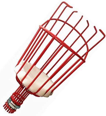Feketden Recolector de Fruta Basket Pole Stick Home-Organizer Tech recogedor de Fruta Herramienta de Cosecha