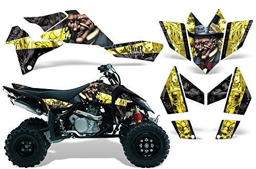 2006-2009 Suzuki LTR 450 AMRRACING ATV Graphics Decal Kit:Mad (One Industries Suzuki Graphics)