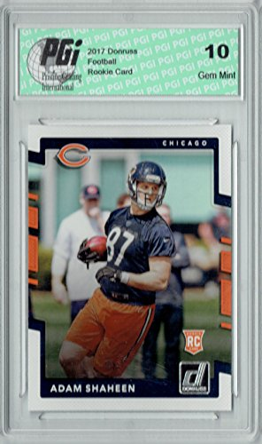 Adam Shaheen 2017 Donruss #354 Rookie Card PGI 10