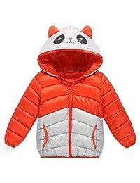 ChainSee Baby Girl Boy Winter Warm Panda Hooded Zipper Down Coat Jacket Parka