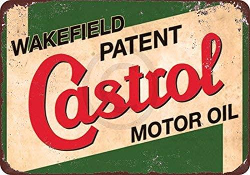 qidushop Wakefield Castrol - Cartel Decorativo de Metal para ...