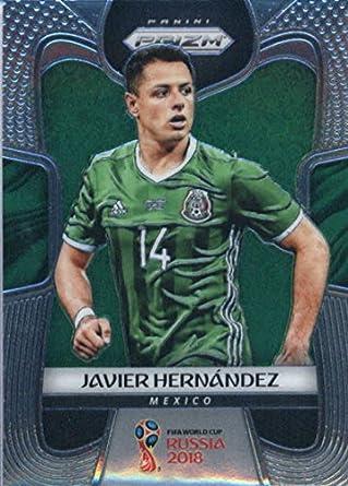 Amazon.com  2018 Panini Prizm  127 Javier Hernandez Mexico Soccer ... cfb551018