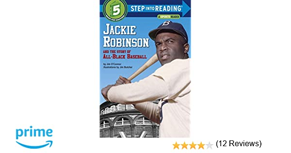 Workbook black history month biography worksheets : Jackie Robinson and the Story of All Black Baseball (Step into ...