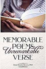 Memorable Poems and Unremarkable Verse Paperback