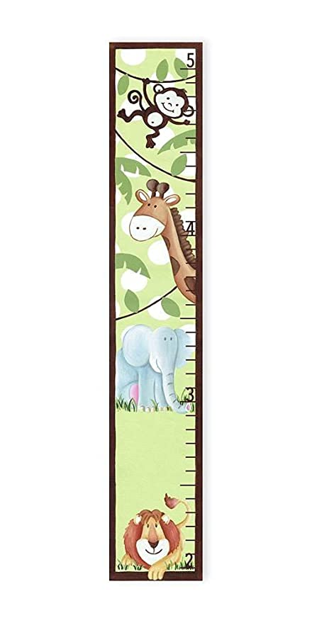 Amazon Stupell Home Dcor Whimsical Jungle Growth Chart 7 X