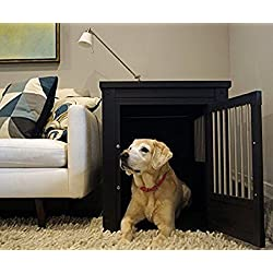 NEW! Dog Crate Kennel Cage Bed Night Stand End Table Room Wood Furniture Cave House